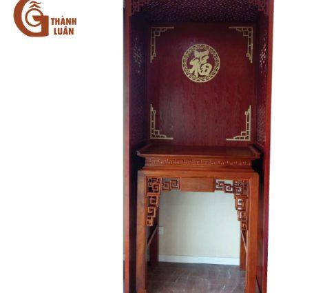 bàn thờ gỗ cao cấp thành luân đứng