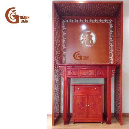Bàn thờ đứng gỗ hương đỏ TĐ 20