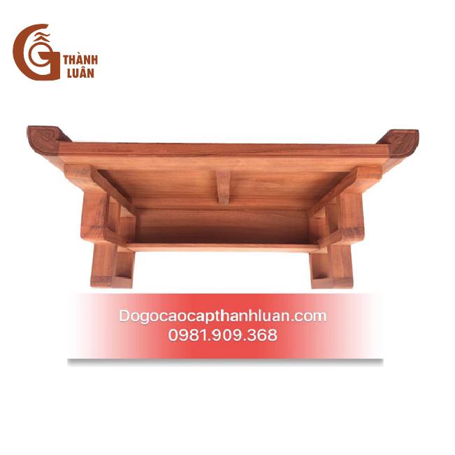 Bàn thờ gỗ treo tường TT03