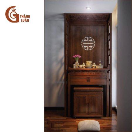 mẫu bàn thờ gỗ đẹp hiện địa TĐ 23