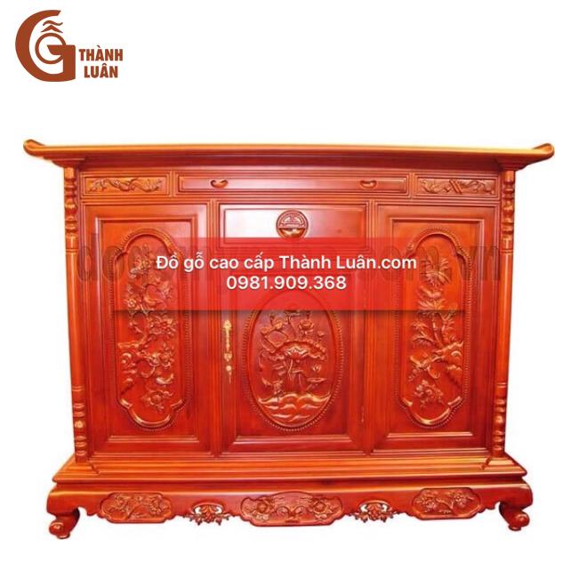 Tủ thờ gỗ cao cấp TG01 tạo nên sức hút đặc biệt với người tiêu dùng